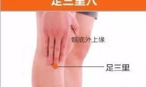 按摩足三里穴位可以治疗慢性盆腔炎症吗?